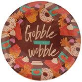 Gobble Till You Wobble Plate