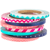 Pink & Navy Washi Tape