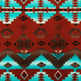 Southwestern Anti-Pill Fleece Fabric