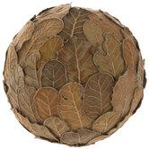 Oak Leaves Decorative Sphere
