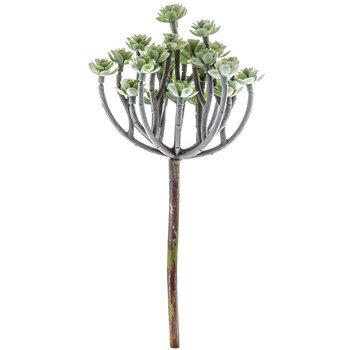 Green Tree Succulent Pick