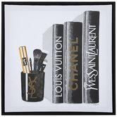 Fashion Brand Books Canvas Wall Decor