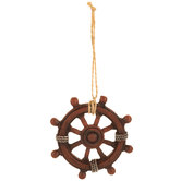 Ship Wheel Ornament