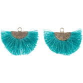 Fan Tassel Pendants
