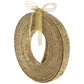Gold Laser Sequin Ribbon