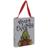 Merry Christmas Grinch Light Up Ornament