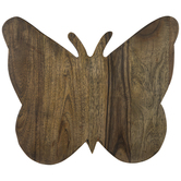 Dolly Parton Butterfly Wood Cutting Board