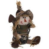 Camo Boy Plush Scarecrow