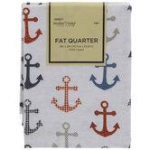 Anchors Fat Quarter