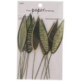 Snake Plant Leaf Embellishments