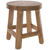 Stool Wood Plant Stand