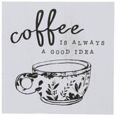 Good Idea Coffee Wood Wall Decor