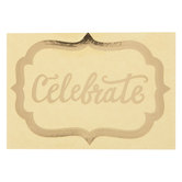 Celebrate Water Bottle Labels