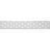Gray & White Polka Dot Wired Edge Ribbon - 1 1/2