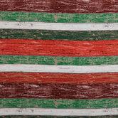 Holiday Barnwood Cotton Fabric
