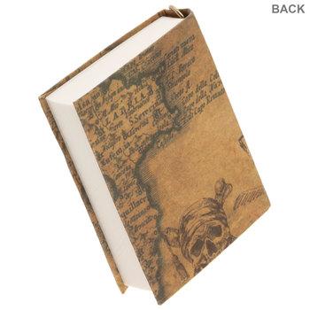 Vintage Map Journal Charm