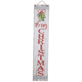 Joy & Merry Christmas Wood Wall Decor