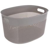 Gray Cutout Basket