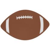 Football Painted Wood Shape