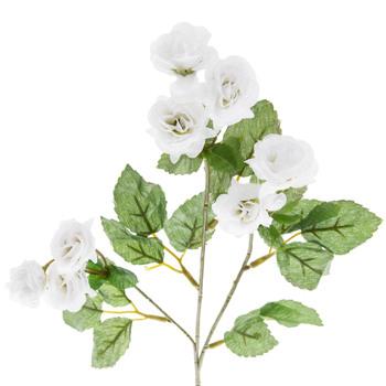 White Tea Rose Spray
