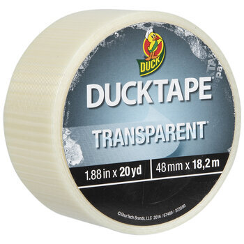 Clear Transparent Tints Duck Brand Duct Tape