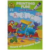 Printing Fun Workbook