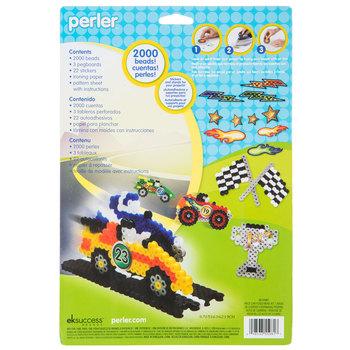 Race Car Perler Bead Kit