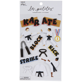 Karate 3D Stickers