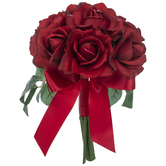 Red Carolina True Touch Rose Bouquet