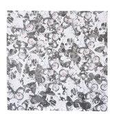"Pink & Black Butterflies Scrapbook Paper - 12"" x 12"""