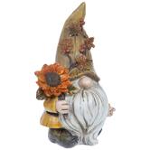Gnome Holding Sunflower