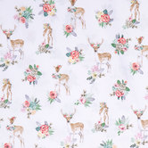 Deer Beautiful Apparel Fabric