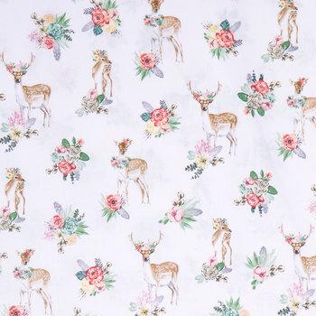 Deer Beautiful Apparel Fabric
