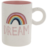 Dream Rainbow Speckled Mug