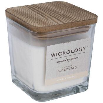 Vanilla Orchid Wood Wick Jar Candle