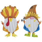 Scarecrow & Turkey Gnome Foam Craft Kit