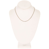 """Linked Bar Chain Necklace - 16"""""""