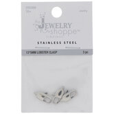 Stainless Steel Lobster Clasps - 13.5mm