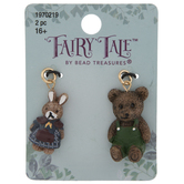 Rabbit & Bear Charms