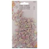 Pastel Glitter Prima Flower Embellishments
