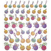 Ornament Foil Stickers