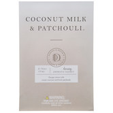Coconut Milk & Patchouli Luxury Aromatic Sachets