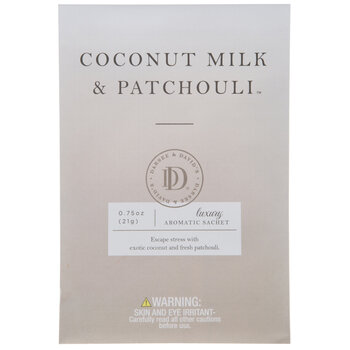 Coconut Milk & Patchouli Luxury Aromatic Sachets