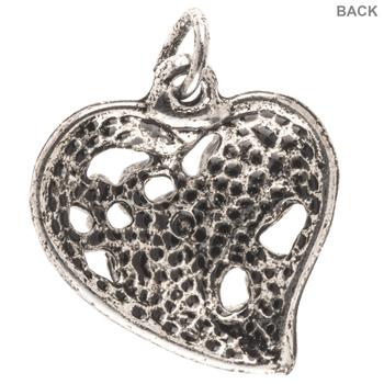 Fancy Heart Charm