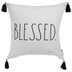 Blessed Plaid Pillow