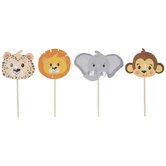 Jungle Animal Cupcake Toppers
