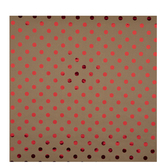 Kraft & Red Foil Polka Dot Gift Wrap