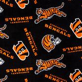 NFL Cincinnati Bengals Fleece Fabric