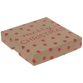 Polka Dots Merry Christmas Gift Card Holder