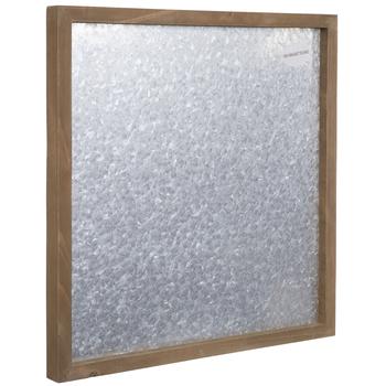 Galvanized Metal Magnet Board Wall Decor